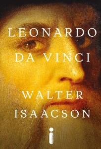 Capa da biografia best seller de Da Vinci