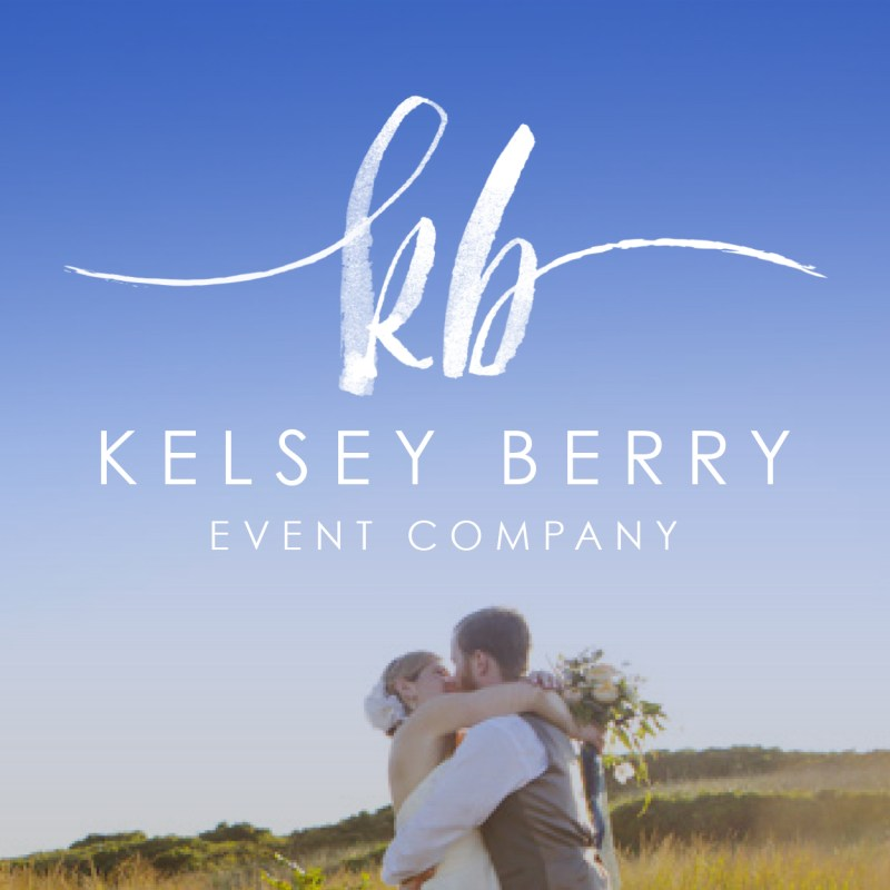 Portfolio: Kelsey Berry Event Company Logo and Branding