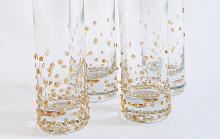Bubbly Champagne Flute Toasters DIY
