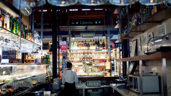 Madrid Spain Mercado de San Miguel Vendor