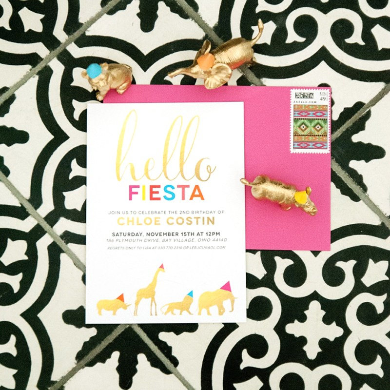 Featured on 100 Layer Cakelet – Fiesta Safari Birthday Party