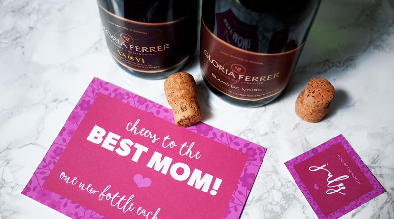 Wine of the Month Free Mother's Day Printable