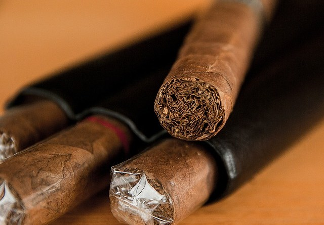 Stacked cigars