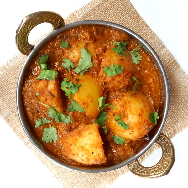delicious potato curry from northern India. Not too spicy but with a ...