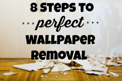 The Best Way to Remove Wallpaper   DoItYourself.com