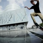 Ordos il paradiso degli skaters