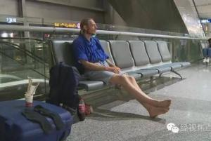 Alexander Pieter Cirk è arrivato all'aeroposto internazionale di Changsha il mese scorso sperando di incontrata Zhang, una donna incontrata online