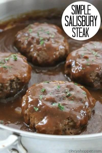 Simple Salisbury Steak - CincyShopper