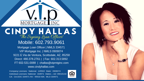 Cindy Hallas Banner- The Signing Loan Officer