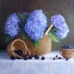 Berries and Hydrangea