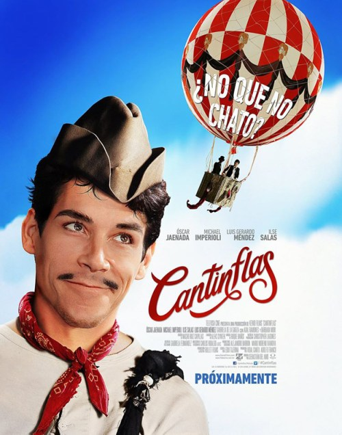 """Mexico, """"Cantinflas"""" (Cantinflas), Sebastián del Amo, director;"""