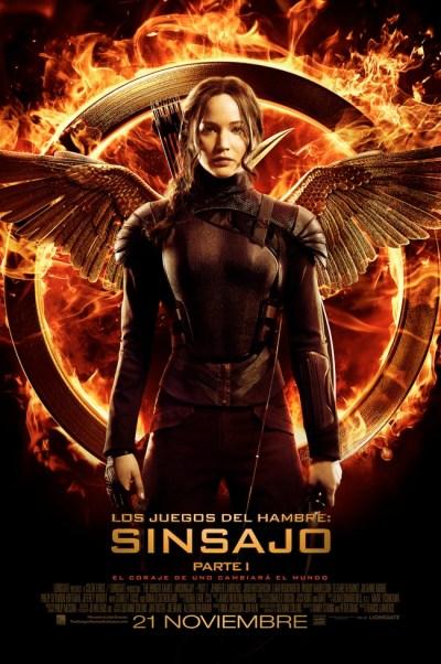 The Hunger Games: Mockingjay, Part 1  (Los juegos del hambre: Sinsajo - Parte 1)
