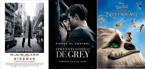 Estrenos de peliculas ARGENTINA febrero 12