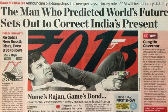 Rajan as Bond