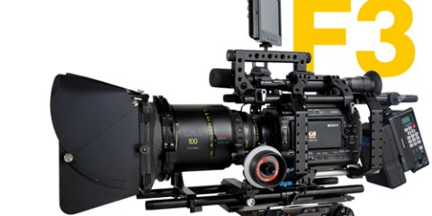 sony PMW-F3 support rig