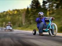 Amazing Downhill Trike Racing Shot on DSLR Cameras: