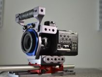 Sneak Peek of the Solid Camera Sony FS100 Prototype Rig: