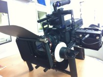 Letus MCS Rig Hauling a Cineroid EVF and Genus Stuff: