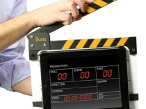 iPad & Clapper = ikan T-Slate (Tablet Production Slate)