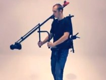 Video of That T-Rex Jib slash Body Mounted Human Crane Rig: