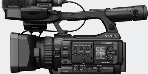 Sony pmw100 side