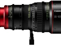 Two Canon Compact Lightweight 4K & 2K Cinema Zoom Lenses: