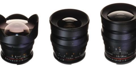 Samyang Uncoated Lens Set