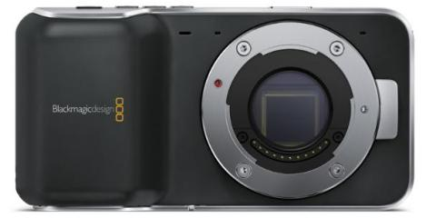Blackmagic Pocket Cinema Camera Front