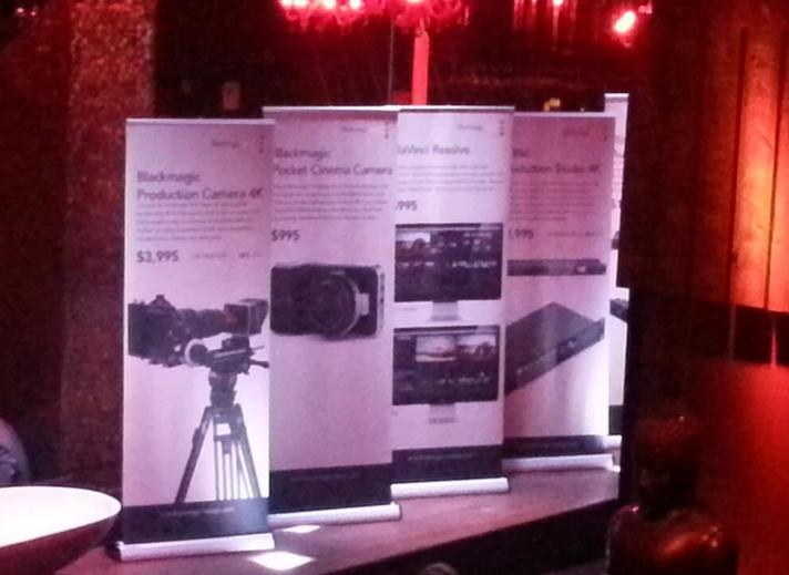 Blackmagic Production Cinema 4K Camera