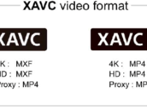 Sony Expands XAVC Format Ramps Up 4K Development and Drops XAVC S: