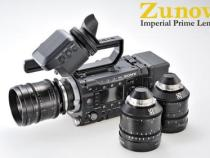 Zunow Imperial Series of Fast 4K T1.5 Prime Lenses Coming to NAB: