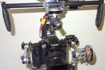 Aegis Brushless Gimbal Camera Rig