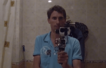 5 Axis Brushless Gimbal Camera Rig