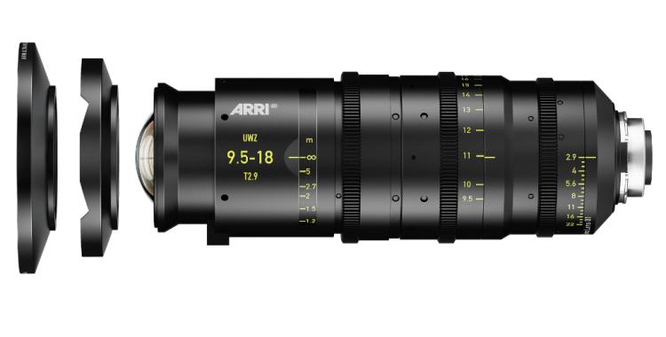 ARRI UWZ 9.5-18 T2.9 Lens