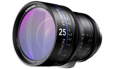 Xenon full-frame 25mm Prime