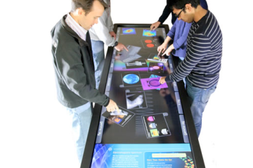 4K Pano 100 Inch multitouch table