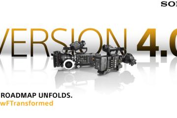 Sony Version 4 firmware updated information