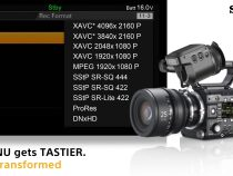 Sony Reaffirm Adding ProRes Recording to the F5 and F55 Cameras: