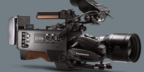 AJA Cion Camera at NAB