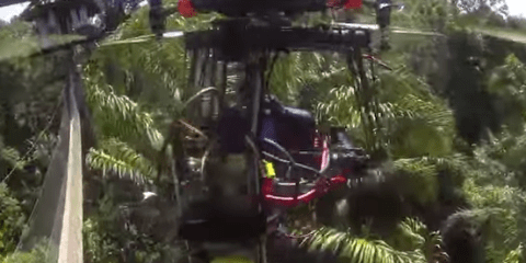 15K Multirotor System Flies Away Alone Crashing Deep Into The Peruvian Amazon Jungle