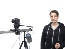 Slidekamera HKN-2 Motion Control on a HSK-5 Heavy Duty Video Slider: