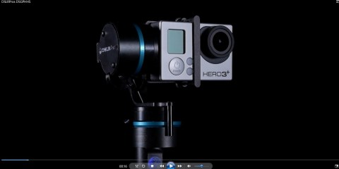 3-Axis Gopro Hand-Held Stabilizer Available from DSLRPros