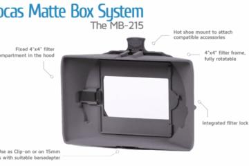 Vocas MB-215 matte box system