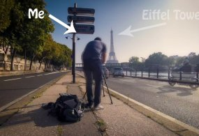 Behind the scene: Timelapse from Sylvain Didier