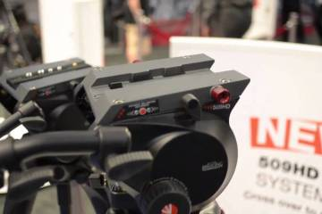 Manfrotto 509HD & 502A Tripods: