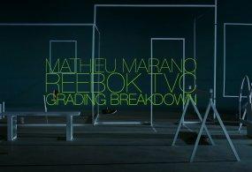 Reebok Colour Grading Breakdown from Mathieu Marano