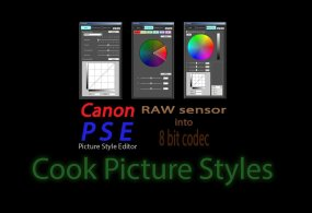 Cook Picture Styles Now FREE For Your Canon DSLR Camera