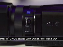 Sony 4K FDR-AX100 Camcorder With 1″ Sensor For 2K: