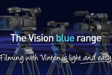 Vinten Showcases Counterbalance On Their Vision Blue Tripod Head Range:
