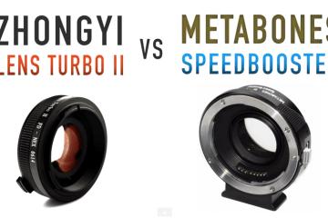 Lens Turbo II vs Metabones Speed Booster